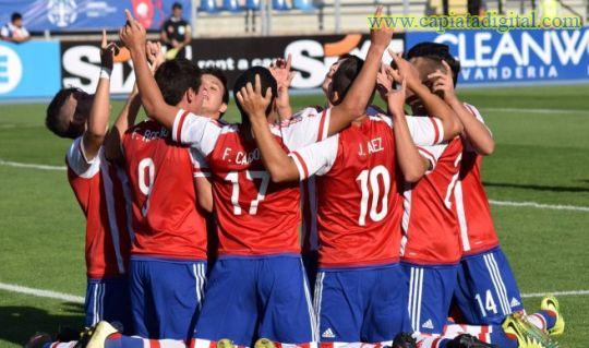 La selección paraguaya sub 17 clasifica al mundial de la India