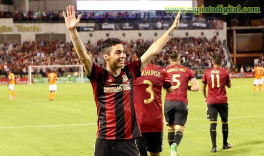 Miguel Almirón, el mejor debutante del año de la MLS