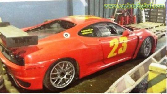 Dos Ferrari en remate de la Direcci�n de Aduanas
