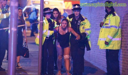 Confirman casi 20 muertos en concierto de Ariena Grande en Inglaterra