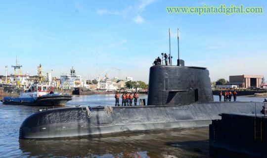 Extripulante del submarino perdido en Argentina cree
