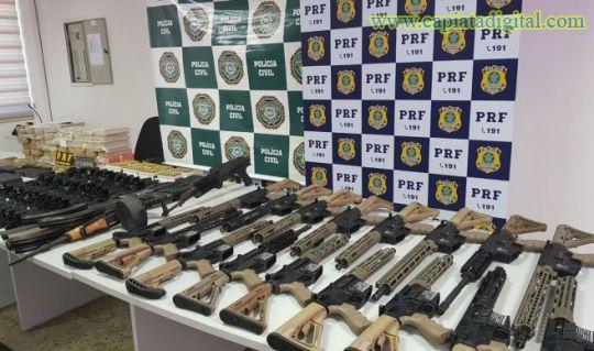 Militar brasileño salió de Foz de Yguazú con arsenal y droga