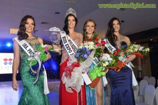 Eligieron a las Mis Expo y a sus princesas
