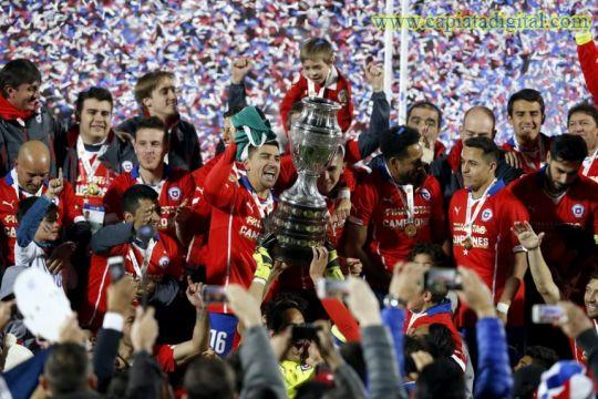Chile supera a Argentina y es nuevo campe�n de Am�rica