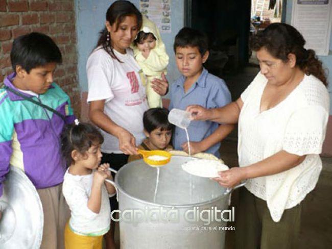 Vaso de leche, en riesgo en Central: gobernador culpa a Hacienda