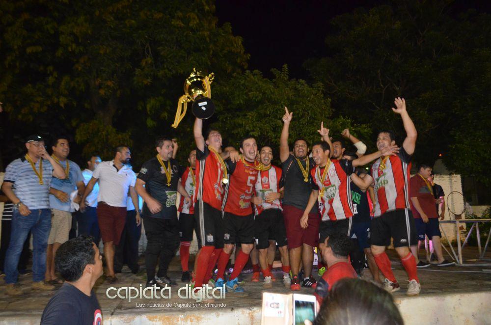 Soca campeón de la Federación Capiateña de Fútbol de Salón