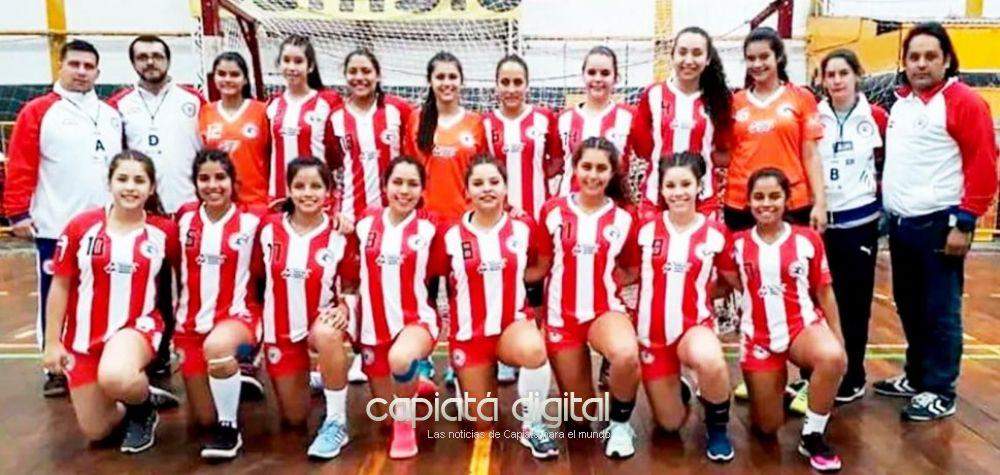 Capiateña se consagra campeona sudamericana de hándbol con Paraguay