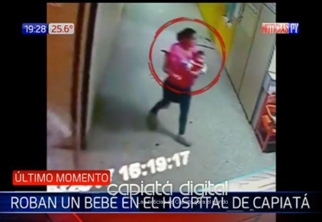 Otro caso de rapto de bebé en hospital de Capiatá