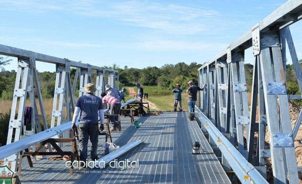 MOPC concluye estratégico puente Naranjaty - Costa Fleitas