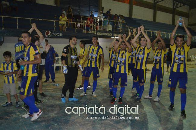 La selección capiateña de futsal ya conoce a sus rivales para las finales de Itapuá