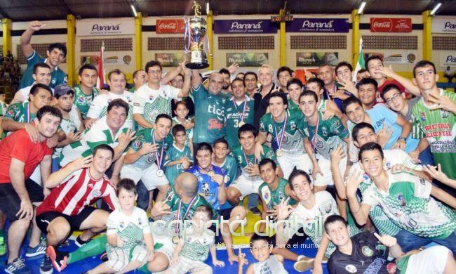Villa Hayes es el campeón Nacional