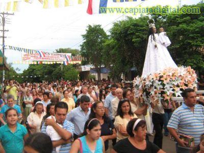 Capiatá honra a la Candelaria y festeja 371 años de fundación