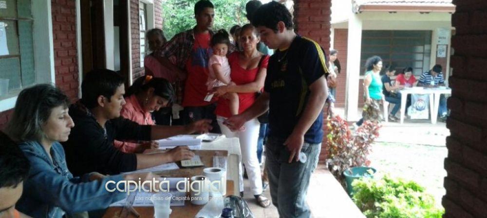 Más de 100 mil habilitados para votar en Capiatá