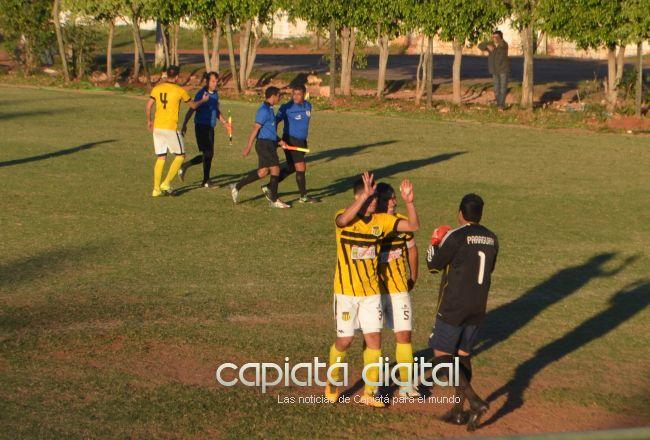 Otra juego postergado por violencia en el fútbol capiateño