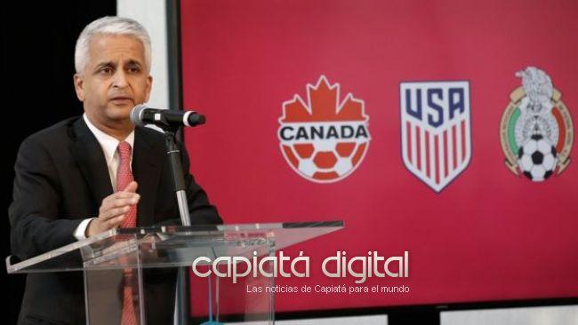 Anuncian histórica candidatura conjunta de México, Estados Unidos y Canadá para el Mundial de 2026... pero a los mexicanos les dan migajas