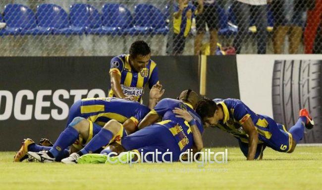 Debut y victoria de Capiatá en la Copa Libertadores