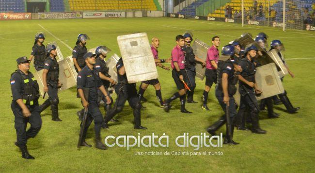 Unión Ybyraró es el primer finalista del campeonato capiateño