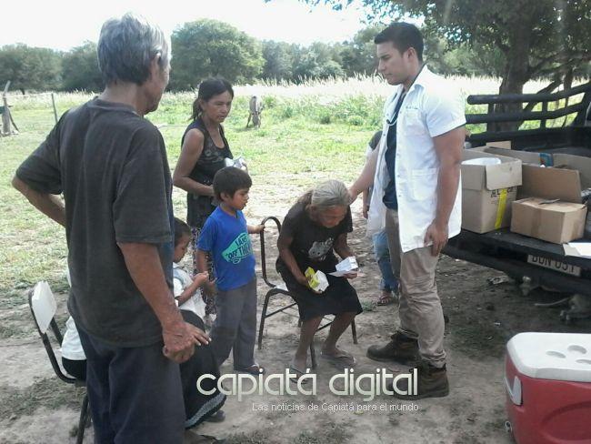 Joven médico capiateño asiste a hermanos indígenas del Chaco