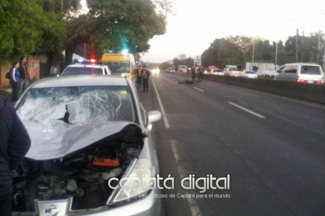Madre e hija mueren atropelladas frente al IPS de Capiatá
