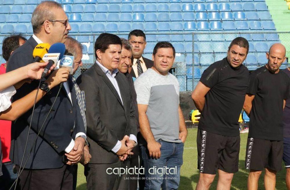 El argentino José Basualdo tomó las riendas del Deportivo Capiatá