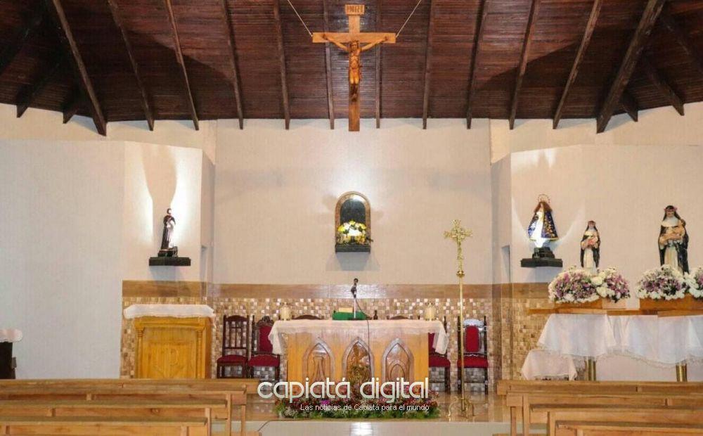Auto misa y procesión para honrar a Santa Rosa en Mboi¨y