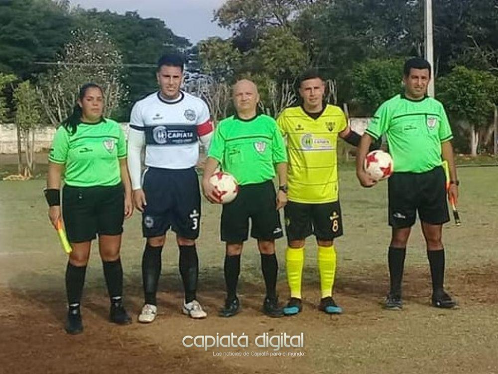 Gral Díaz dio la nota en el arranque del campeonato capiateño 2019