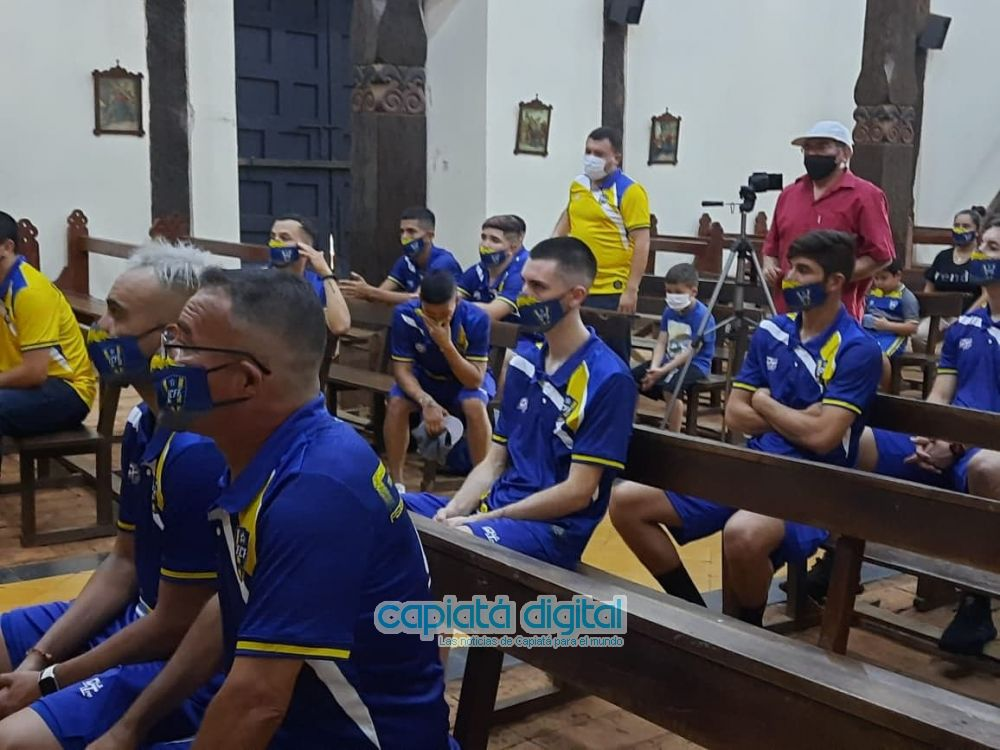 Parte el sueño de traer una copa nacional para Capiatá