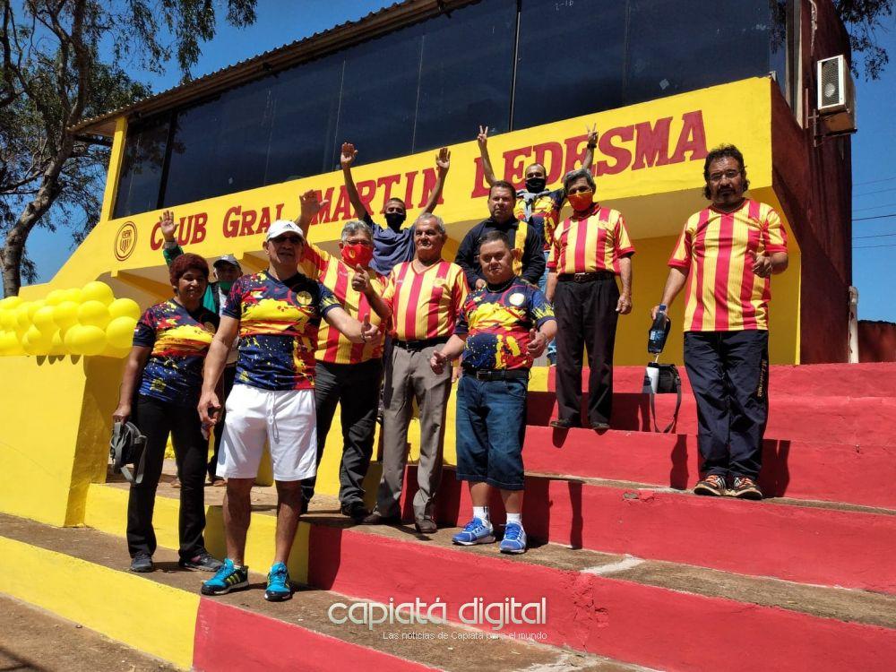 Con mejoras y donaciones el Club Martín Ledesma celebra 106 años