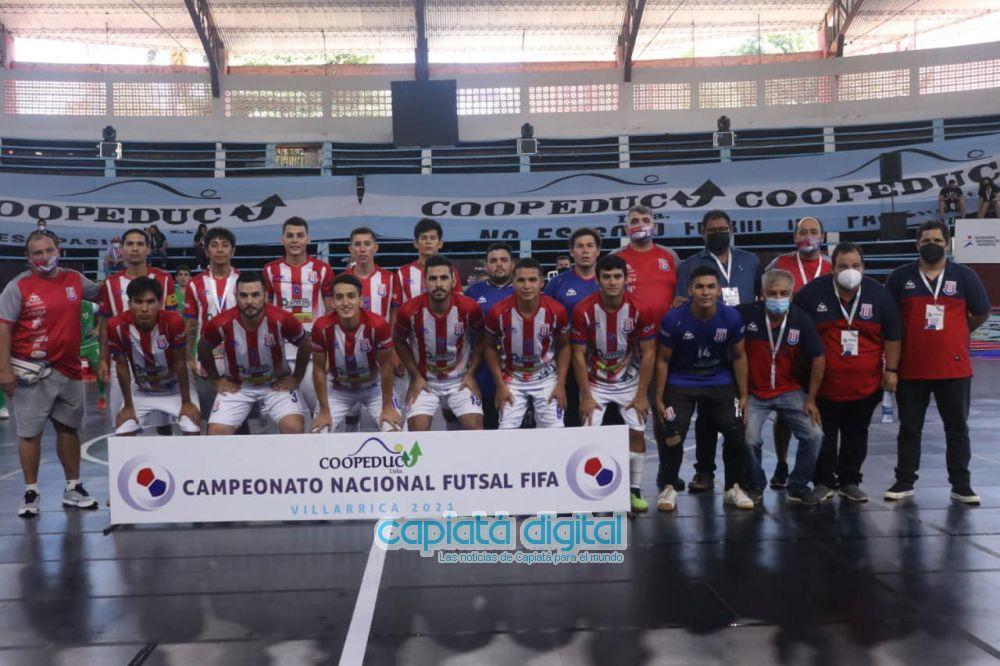 Villa Hayes se corona campeón nacional de Futsal FIFA en Villarrica