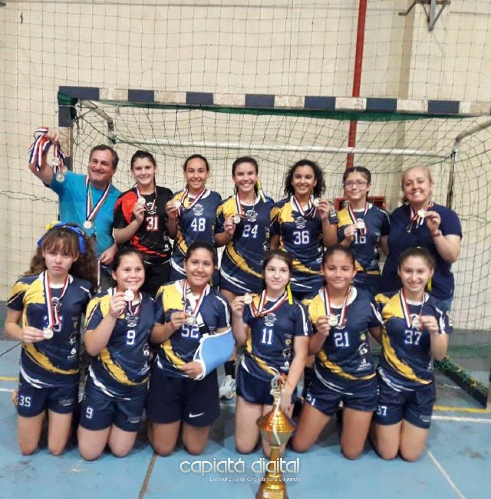 Capiatá es campeón del Clausura 2019 en handball femenino