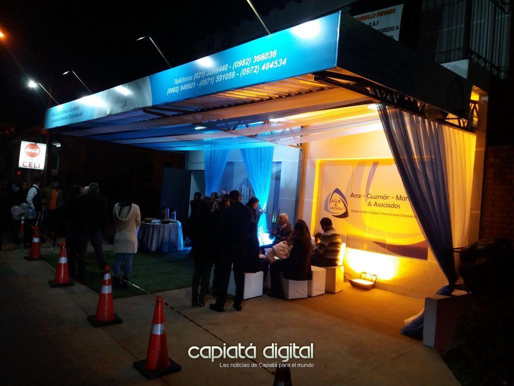 Inauguran moderno estudio jurídico, contable y de asesorameinto empresarial en Capiatá
