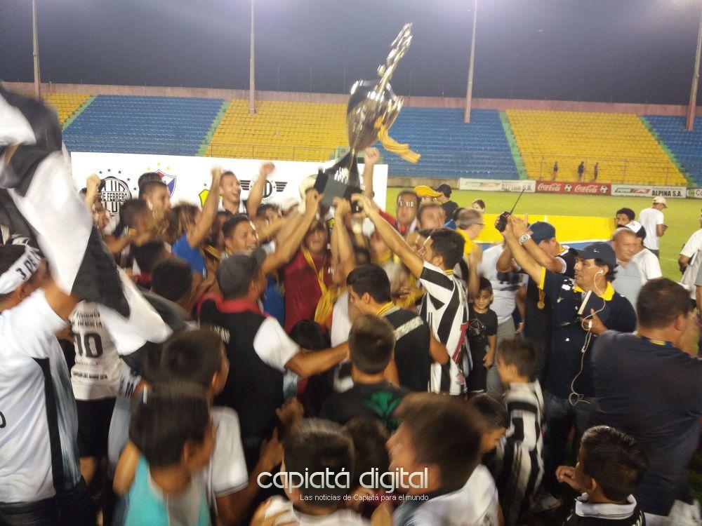 3 de Mayo se corona campeón por primera vez en Capiatá