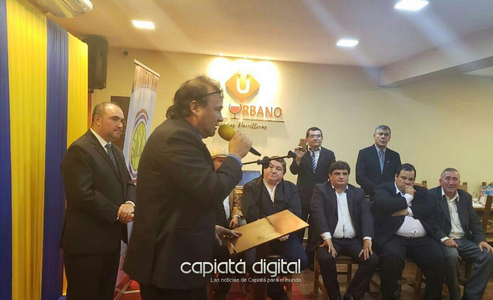 Homenaje de reconocimiento a periodistas deportivos de Capiatá