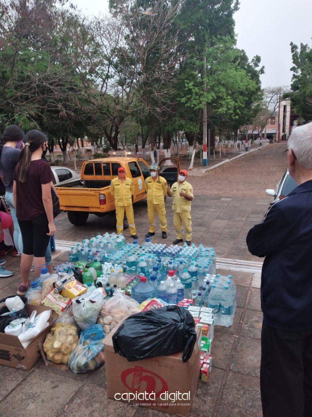 Buena respuesta ciudadana con bomberos voluntarios